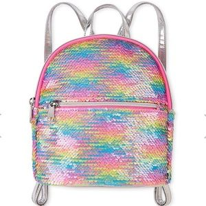 Rainbow Flip Sequin Mini Backpack